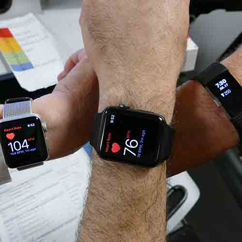 """The Apple Watch and its Rivals Are Big with Doctors"", Marketwatch, May 8, 2015"