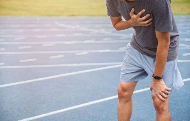 Man runner athlete chest injury and pain | At Your Center, You See Men and Women in Top Shape Yet, Beneath the Surface, There Is Heart Disease Brewing. Please Tell Us a Bit More | Florence Comite on Heart Disease and Erections